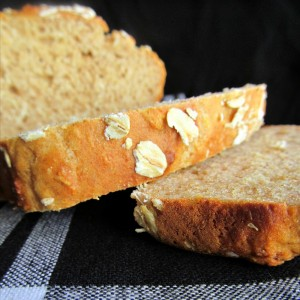 Honey Oat Quick Bread - Super quick, totally delicious and nutritious