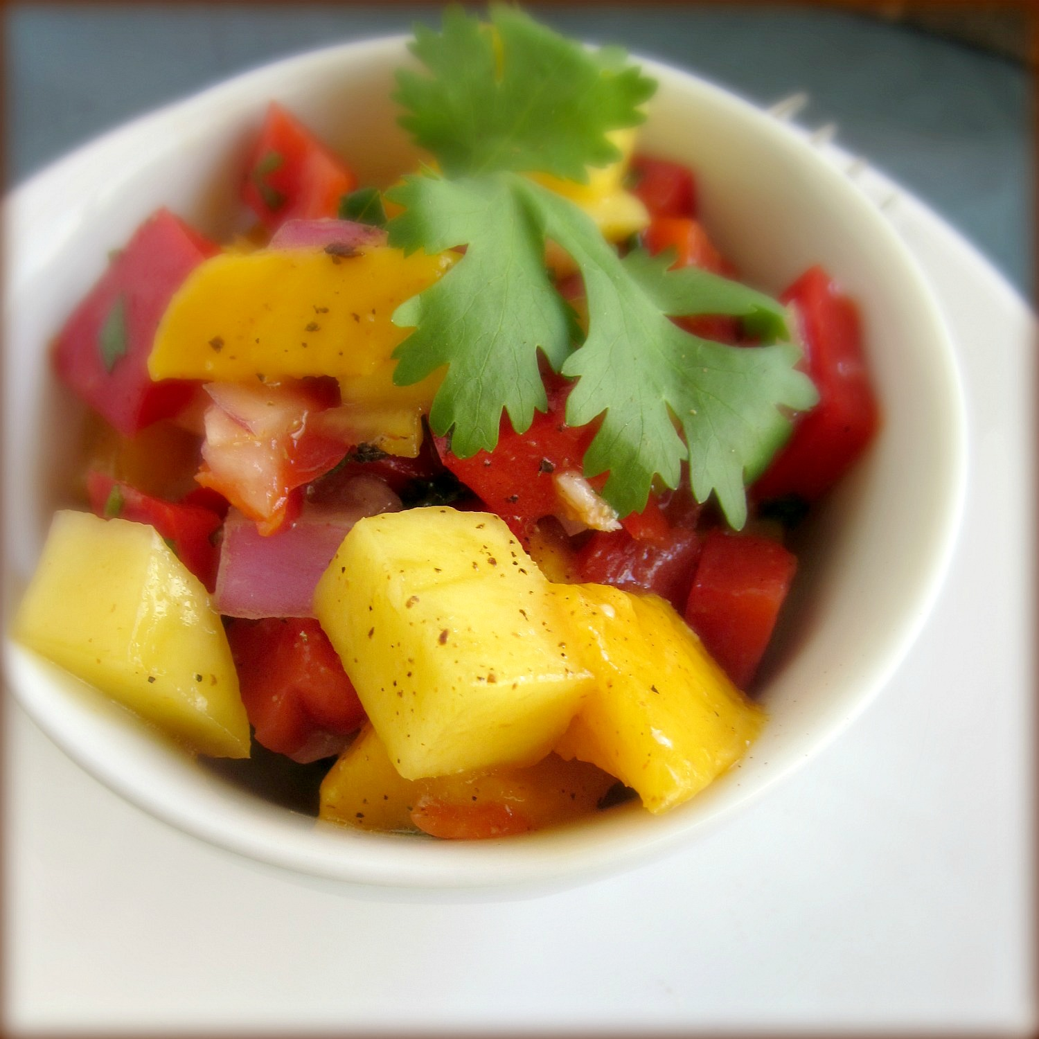 Mango Salsa | Home Is Where The Cookies Are