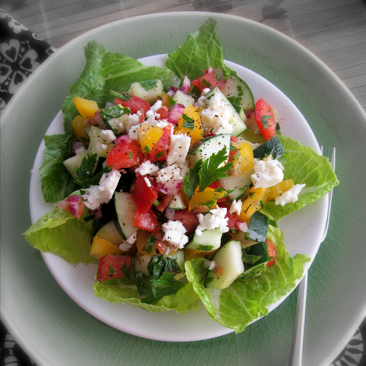 Vegetarian Home Is Where The Cookies Are Page 2 All Veggie Salad Greek Diced