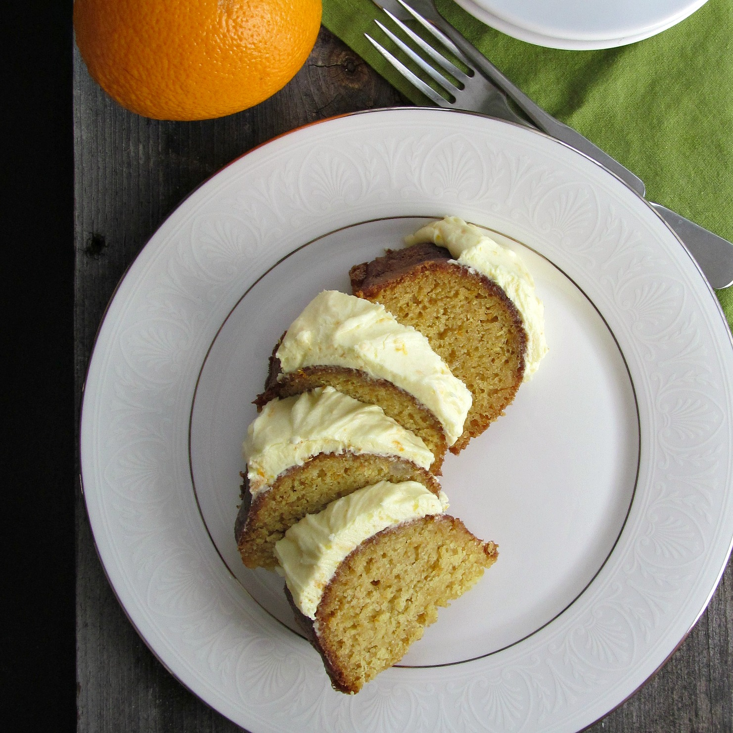 Orange Cream (and White Bean) Bundt Cake | Home Is Where The Cookies ...