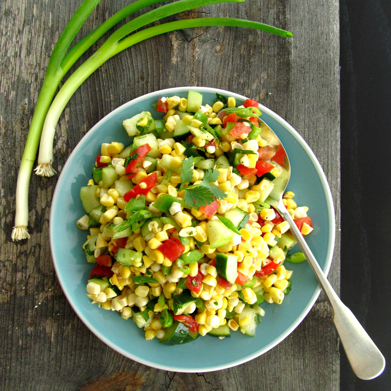 print fresh corn salad ingredients 7 ears fresh corn shucked kernels ...