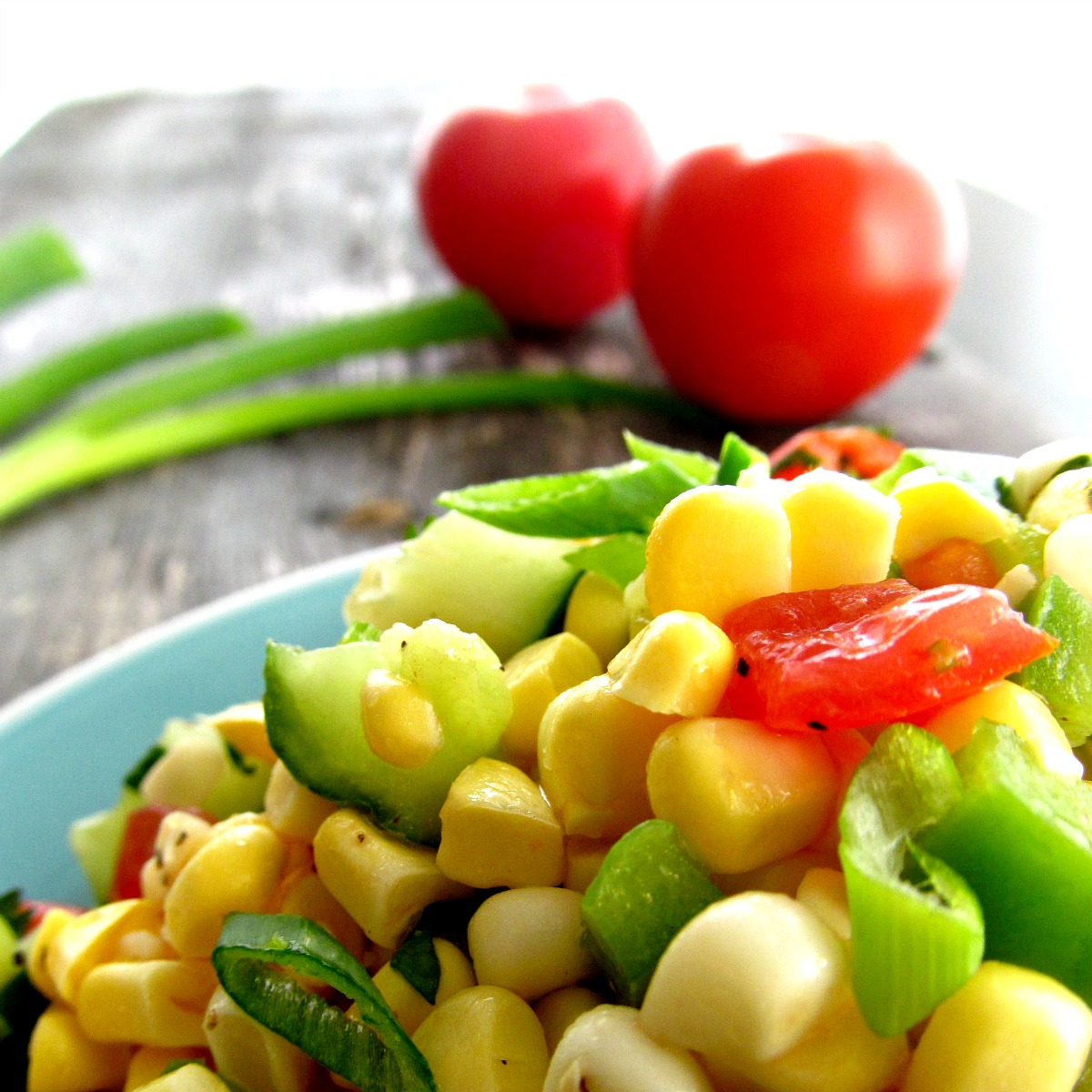 Fresh Corn Salad | Home Is Where The Cookies Are