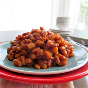 Barbecue Baked Beans from Scratch - With bacon, brown sugar, and Magic Dust, these beans are sweet and spicy, and always get rave reviews!