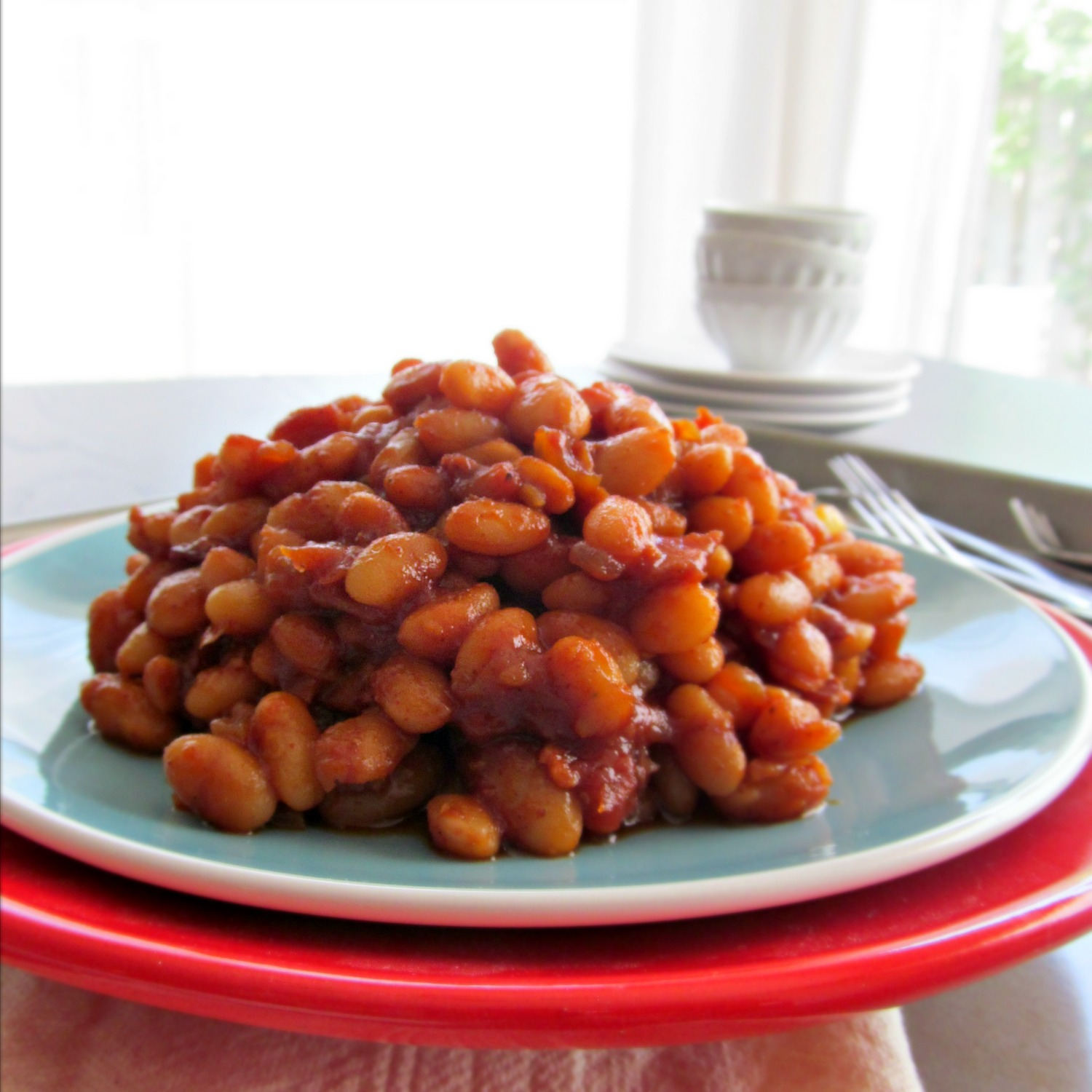Barbecue Baked Beans from Scratch | Home Is Where The ...
