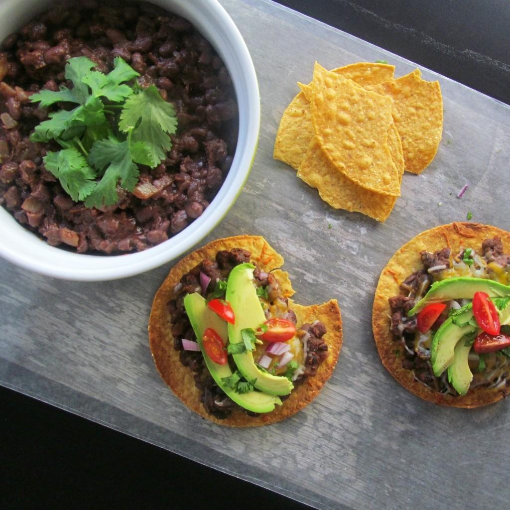 Baked Tex-Mex  Black Beans