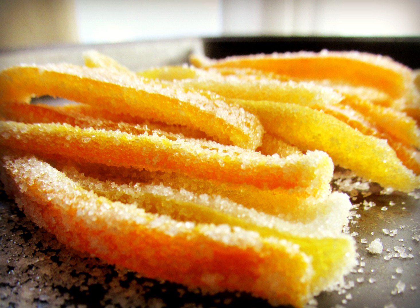 Candied Citrus Peel | Home Is Where The Cookies Are