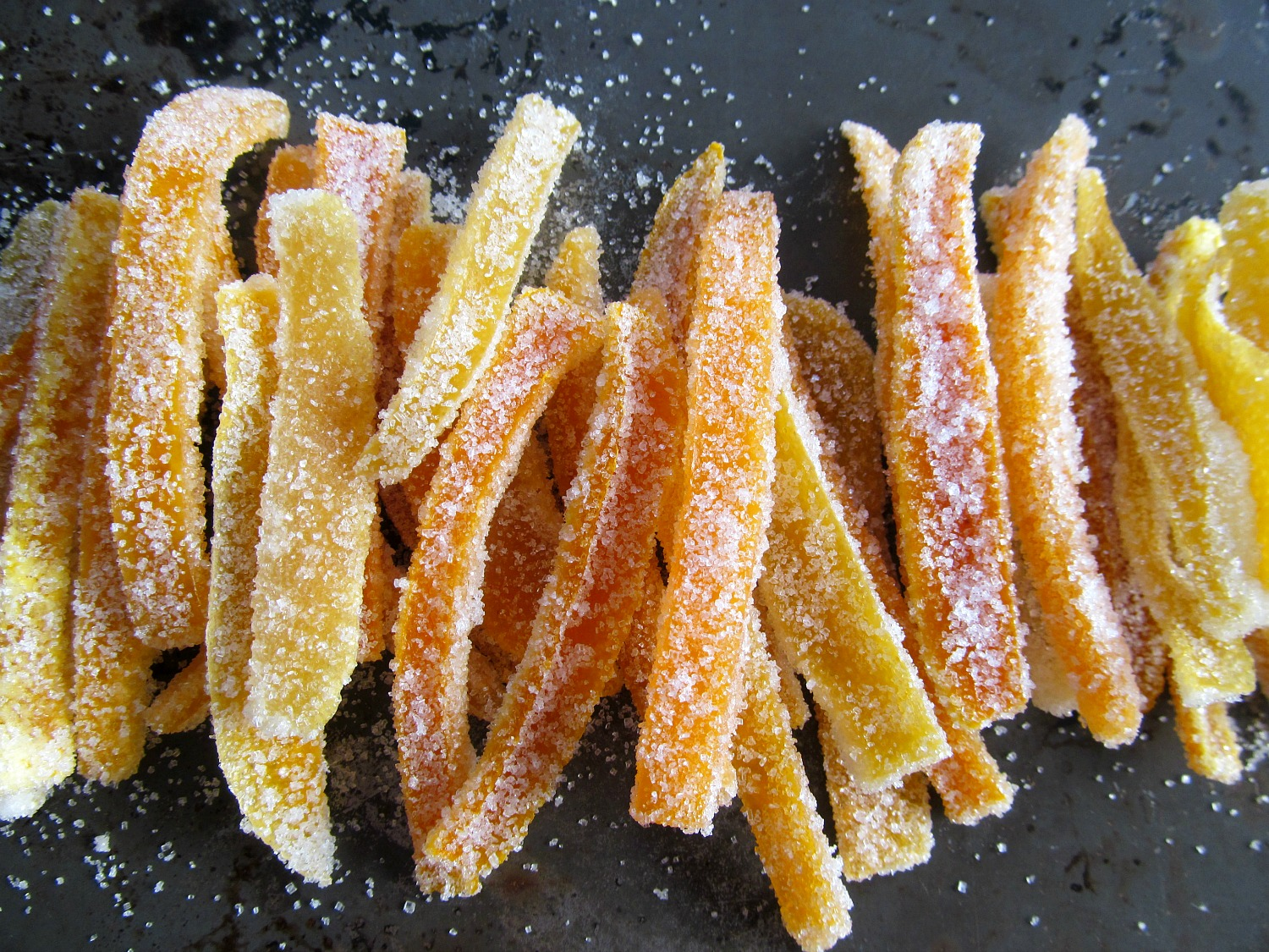 Candied Citrus Peel from Home is Where The Cookies Are. A simple candy ...