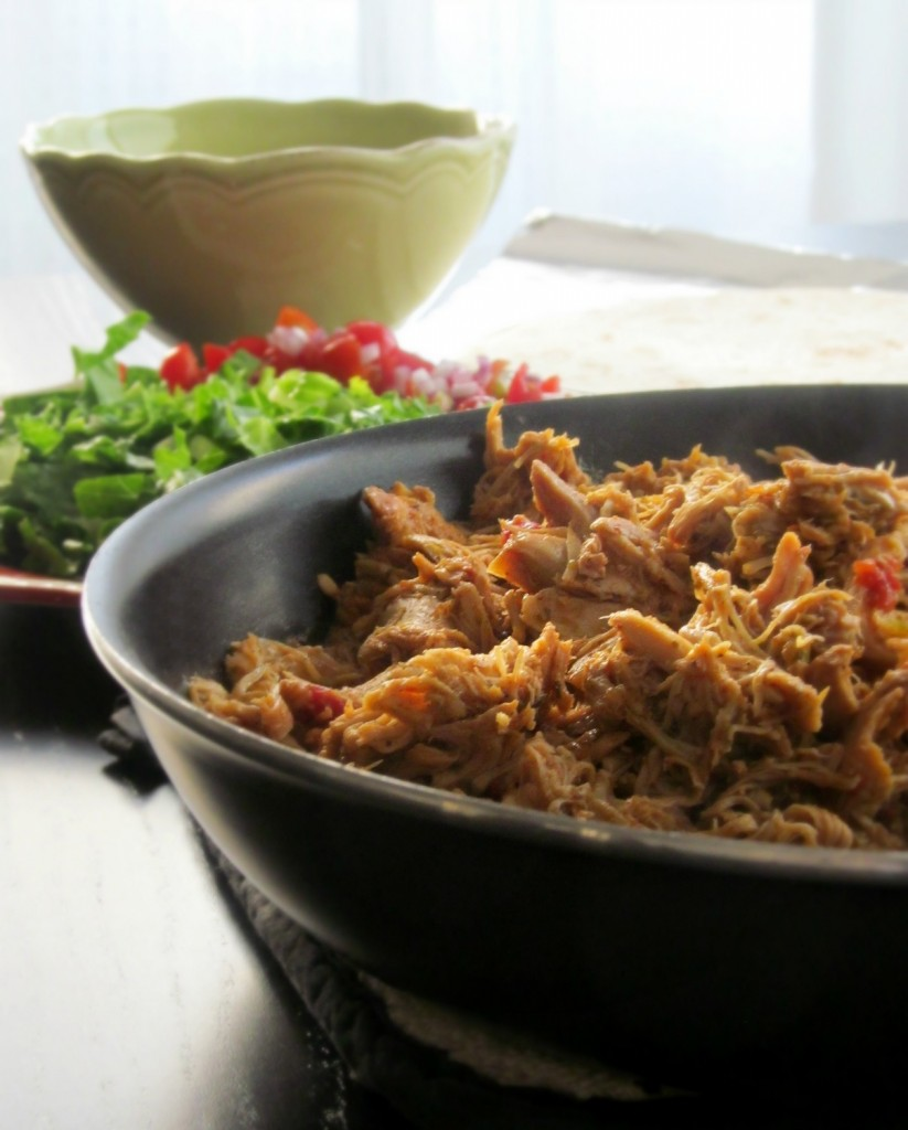 Tex-Mex Slow Cooker Chicken