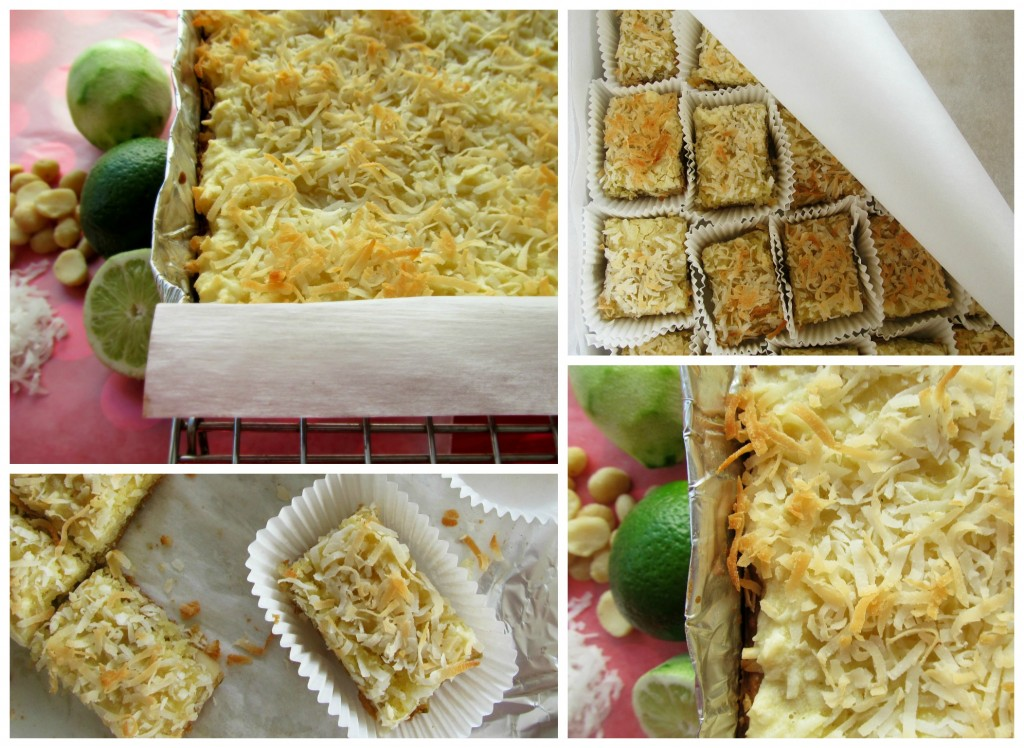 Coconut Lime Bars | Home is Where The Cookies Are
