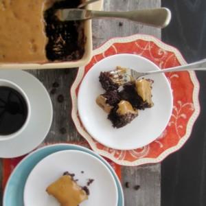 Six Minute Chocolate Cake
