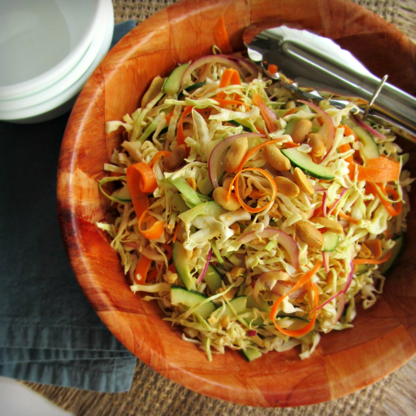 spicy cilantro lime slaw spicy cabbage slaw sweet and spicy slaw be ...