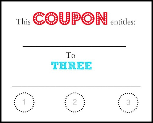 make your own coupons