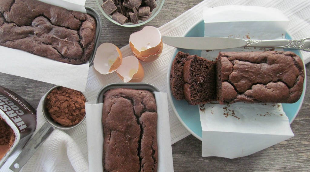 Dark Chocolate Quick Bread - grain free decadent quick bread