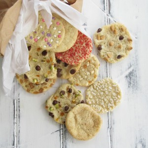 One Dough, Twelve Ways - one versatile sugar cookie dough, dressed a dozen different ways