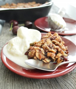 Caramel Apple Dark Cherry Crisp