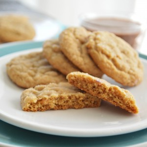 Easy Peanut Butter Sugar Cookies