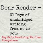 Dear Reader day 6
